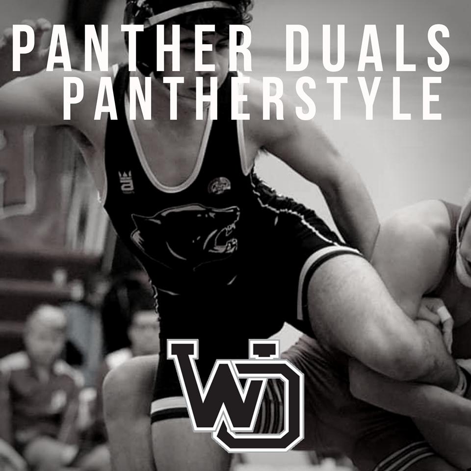 Panther Wrestlers finish 3rd place at 45th Annual Panther Duals