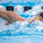 Boys Varsity Swimming beats Hudsonville 189 – 126