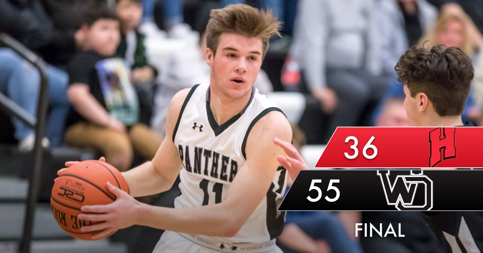 Panthers win district opener