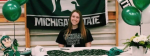 """I just love gymnastics"", Lebster signs with MSU."