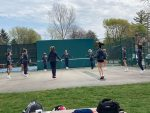 Girls Varsity Tennis beats Rockford 9 – 0