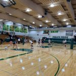 Cougar Volleyball wins season opener at Vashon!