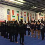 Westlake High School Girls Varsity Gymnastics finishes 4th place