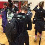 Westlake High School Girls Varsity Gymnastics finishes 1st place