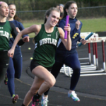 Sedlak and Bauer Lead Track Teams on Day 1 of Districts