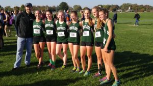 Varsity Girls Cross Country SWC Championships 10/15/16