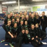 Gymnastics qualifies for Districts; Brennan and Reilly qualify in individual events