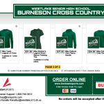 Today (8/9) is the Last Day for LBMS XC Spirit Wear Orders!