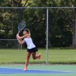 Girls Varsity Tennis beat North Ridgeville 5-0