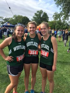 Girls Cross Country Mentor Cardinal Classic September 2, 2017