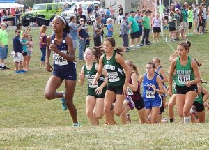 Girls Cross Country Boardman Spartan Invitational September 16, 2017