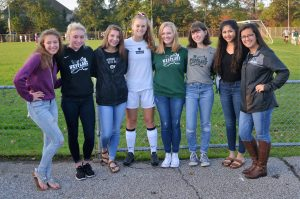 Girls Cross Country Senior Night October 9, 2017