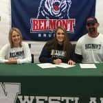 Audrey Lyle Signs at  Belmont University