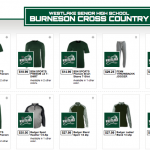 LBMS XC:  Spirit Wear Orders Open 8/1- 8/8