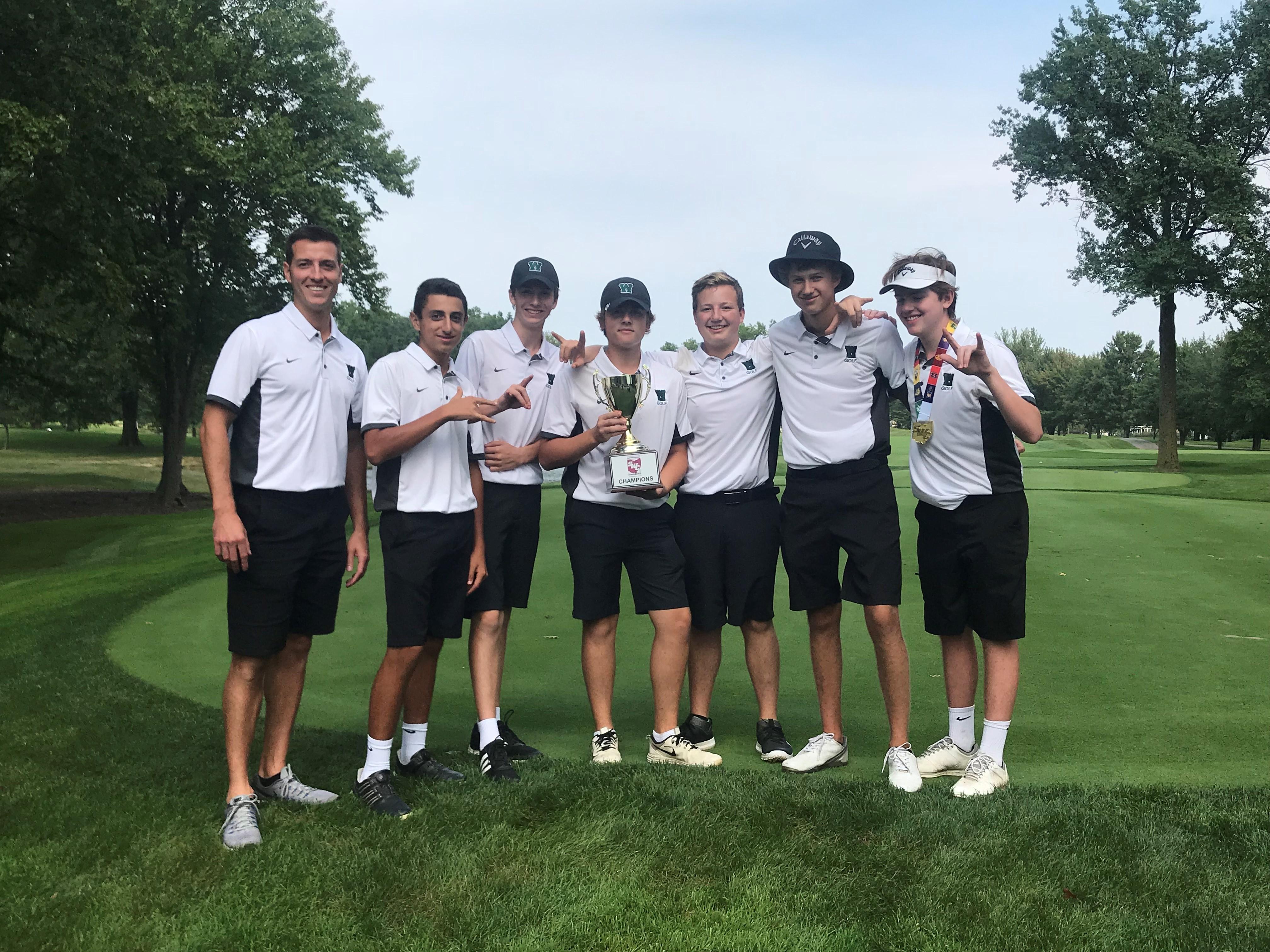 Demon Boys Golf Named SWC Champions!