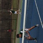 Boys Junior Varsity Tennis falls to Amherst Steele 3 – 2