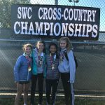 LBMS girls XC team takes first place at SWC championship meet