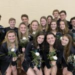 Boys Swimming  and Diving beats North Olmsted 130 – 37 on Senior Night