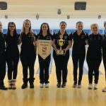 Girls Varsity Bowling Comes from Behind to Win the Southwest Conference Championship
