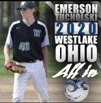 Spring Sport Senior Spotlight:  Emerson Tucholski, Baseball