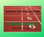 Senior Spring Sport Spotlights:  Jonathan Hom, Boys Track and Field