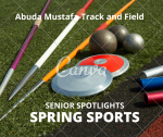 Senior Spring Sport Spotlights:  Abuda Mustafa, Track and Field