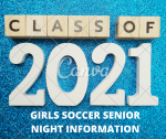 Reminder Girls Soccer Senior Night Tonight: Venue and Ticketing!