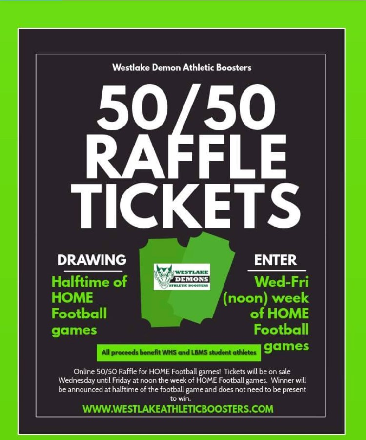 WDAB Virtual 50/50 Raffle for this Friday's game-Tickets on Sale Now!