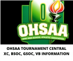 OHSAA Tournament Central:  Volleyball, Girls Soccer and Boys Soccer Will All Host First Round Games!  Also XC Information!
