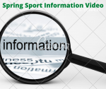 Spring Sport OHSAA Informational Video Now Available