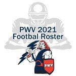 PWV 2021 Football Team Roster