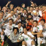 Boys Varsity Soccer State Champions: Beat Bel Air High School 4-0