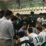 Walter Johnson High School Boys Junior Varsity Basketball beat Montgomery Blair High School 40-26
