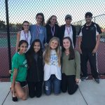 Walter Johnson High School Girls Varsity Tennis finishes 1st place