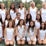 2017 Girls Varsity Tennis