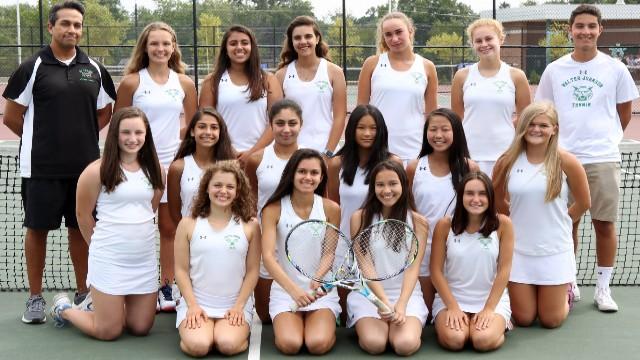 WJ Girls Tennis Wins 2017 MCPS Championship!