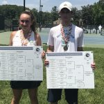 Mixed Doubles State Tennis Champions