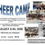 Cheer Camp August 6-10