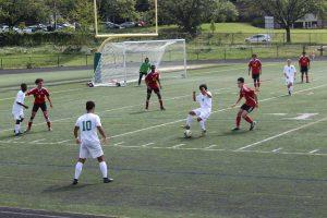 Wildcats Varsity Boys soccer versus Wheaton 9/22/18