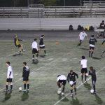 WJ Varsity Boys soccer versus B-CC 9/27/18 (Rain!!)