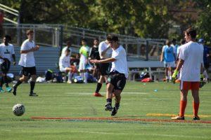 WJ Varsity boys soccer versus Churchill 9/29/18