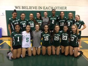 WJ Girls Varsity Volleyball 2018