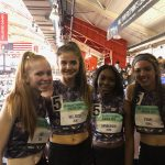 Girls SMR Team Sets MCPS Record!