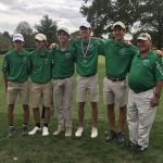 Coach Wheeler & the District Golf Competitors