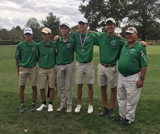 Jake Griffin Wins Gold & Golf Team 3rd Place at District Tournament