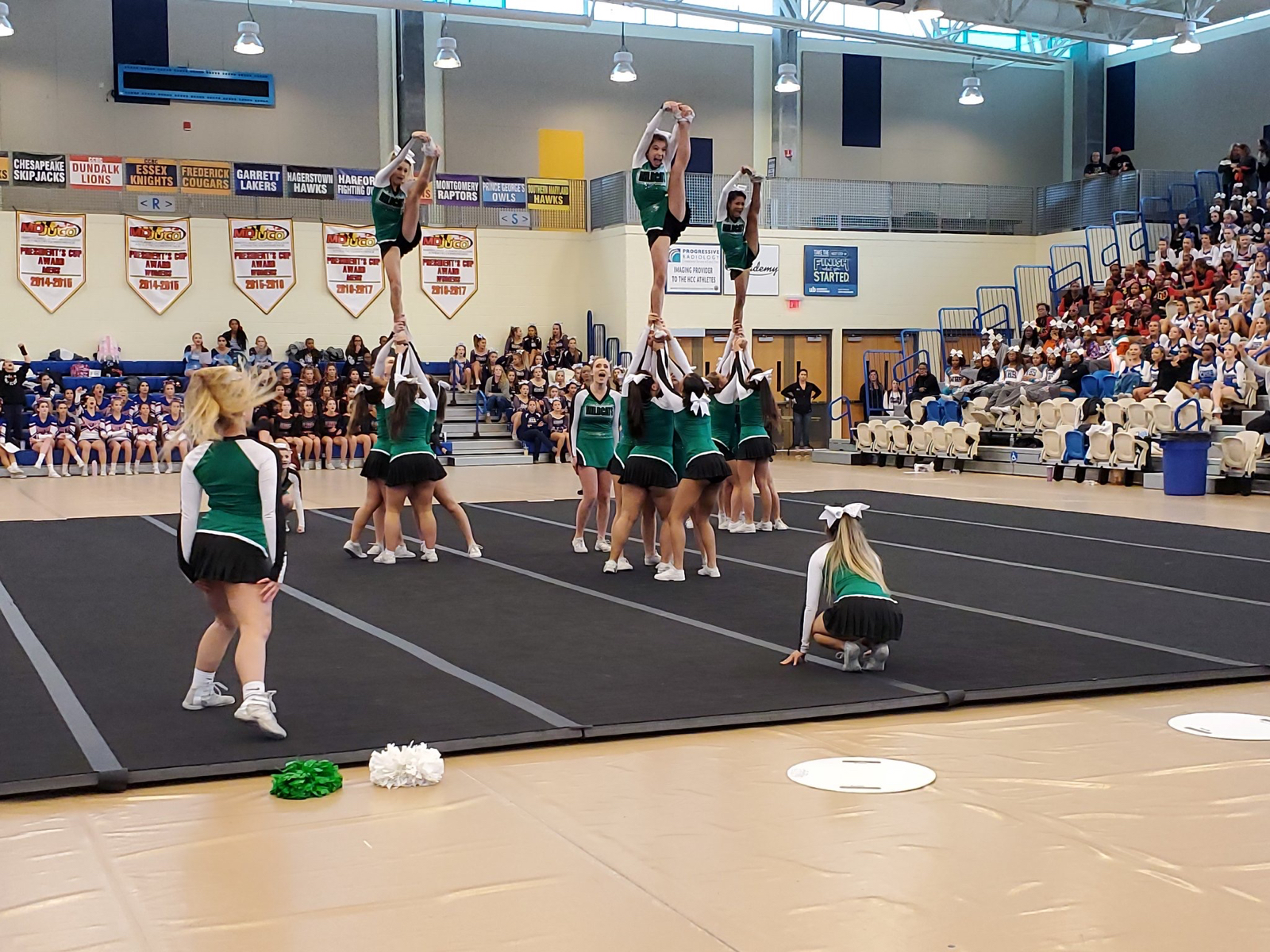 Varsity Cheer Qualifies for STATES!!!