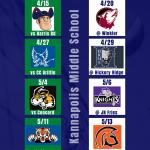 KMS Volleyball Schedule