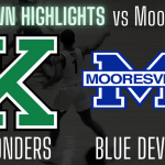 Varsity Boys Basketball Highlights vs Mooresville
