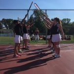 William Tennent High School Girls Varsity Tennis beat Jenkintown High School 4-3