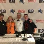 "Student Athletes Talk ""Work Ethic"" on 610 ESPN Radio"